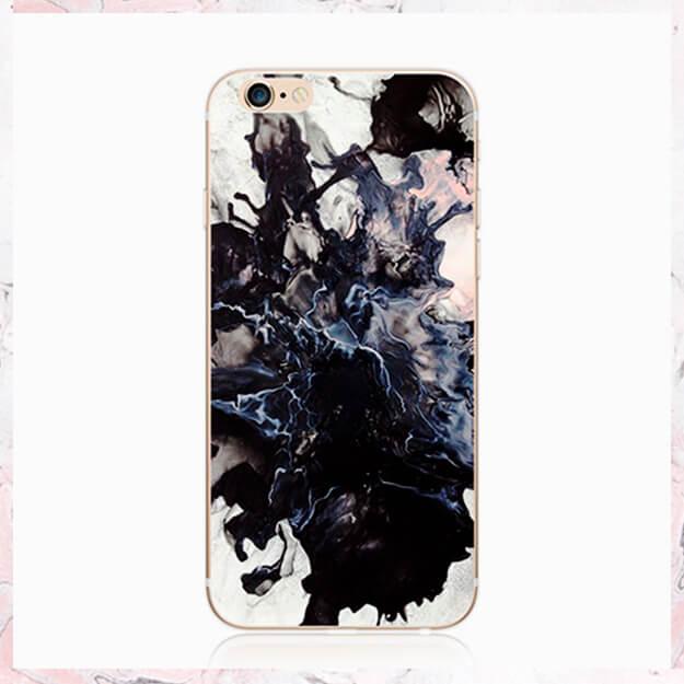 Marmor black white