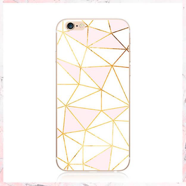 mosaik pink white