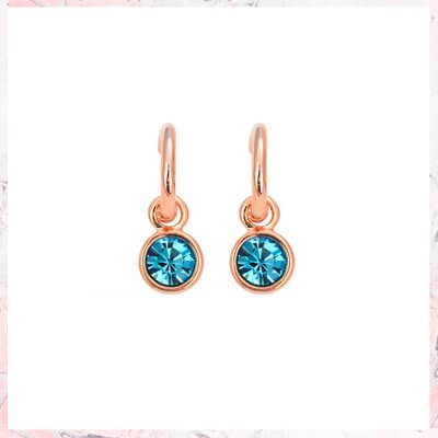 Nora blue earrings