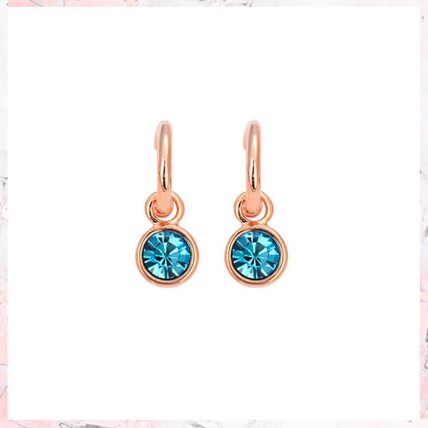 NORA Blue – Rosa guld