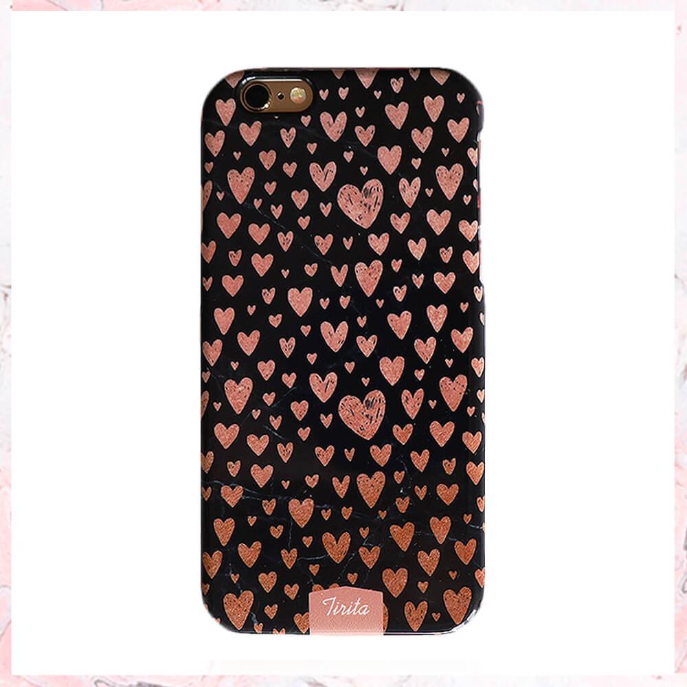 Rosa hearts