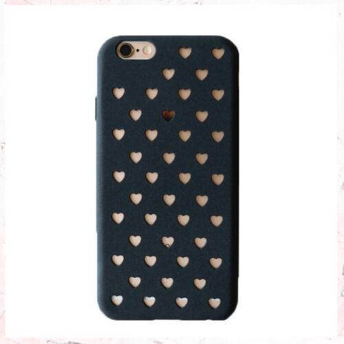 mobilcover gennemsigtige hjerter