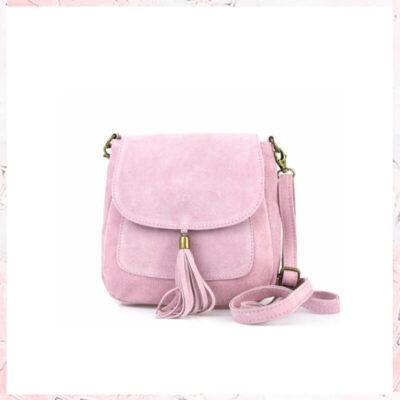Esther - lyserød tassel taske