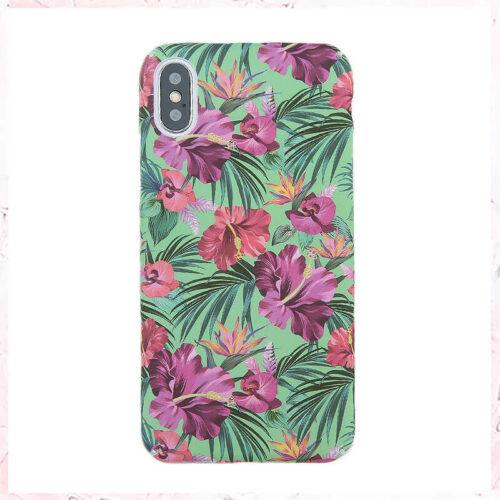 lilla hawaiiblomst