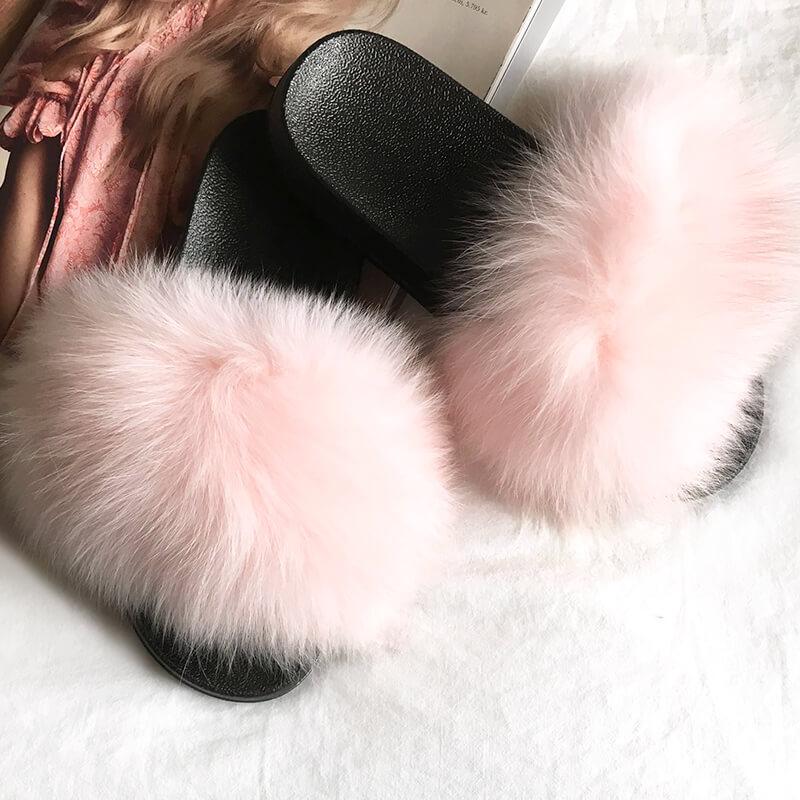Lyserøde slippers