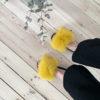 gule slippers