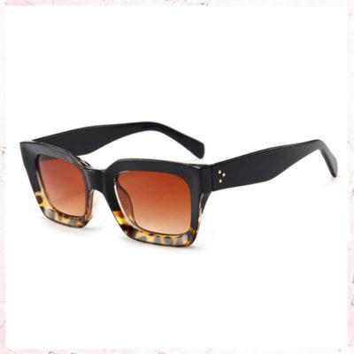 leopard solbriller