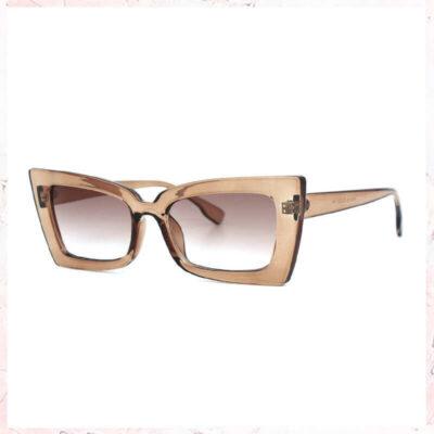 rosa cateye solbriller