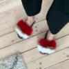 røde slippers