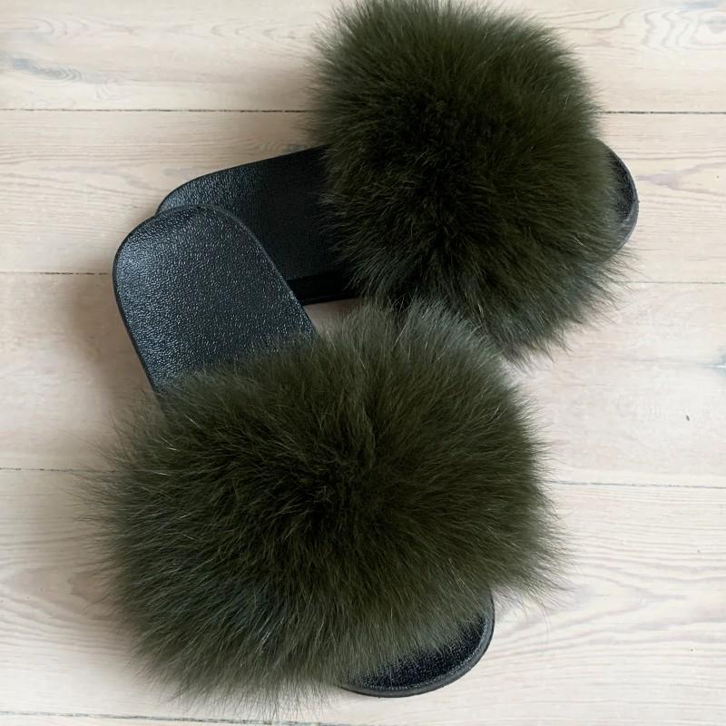 Army grøn slippers