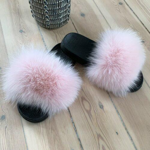 lyserrøde slippers